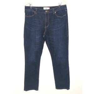 Cabi high straight jeans Size 14